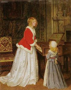 The Harpsichord, Charles Rossiter. English (1827 - 1890) Glorious Days, Writing Images, Victorian Art, My Fair Lady, Pre Raphaelite, 2d Art, Baroque, Muse, Musicals
