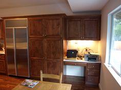 North County Kitchens, Petaluma, CA, Alder Cabinet Reface in San Rafael