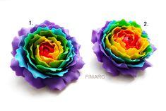 Rainbow Rose broche Rainbow Roses