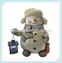 Big Outdoor Christmas Snowman Statue With Lantern - Buy Outdoor Snowman,Christmas Snowman,Big Christmas Snowman Product on Alibaba.com