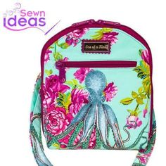 Sewn Ideas PDF sewing patterns are focused on guiding you through the pattern stitch by stitch. Bag Patterns To Sew, Pdf Sewing Patterns, Quilting Patterns, Handbag Patterns, Tote Tutorial, Backpack For Teens, Craft Bags, Bag Making, Making Ideas