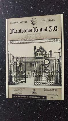 MAIDSTONE UNITED V STAFFORD RANGERS 1987-88