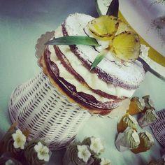naked cake #torta della pasticceria la Mimosa di http://www.simocakedesigner.it