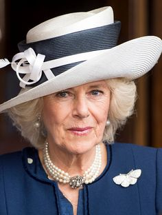 The Prince Of Wales And Duchess Of Cornwall Attend Service