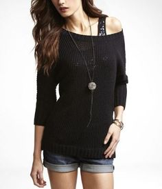 I have a similar one. I absolutely LUV off the shoulder shirts.