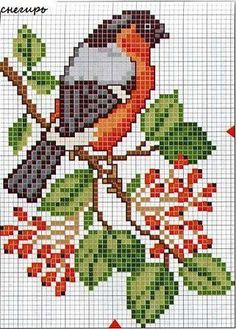 Trendy ideas for home sweet hom cross stitch charts free pattern Cross Stitch Bird, Beaded Cross Stitch, Crochet Cross, Cross Stitch Animals, Cross Stitch Flowers, Cross Stitch Charts, Cross Stitch Designs, Cross Stitching, Cross Stitch Embroidery