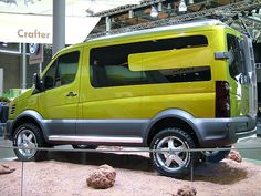 VW Crafter Atacama by kath & theo, via Flickr