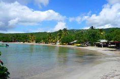 Plage Corps-de-Garde - Martinique - French Caribbean Island