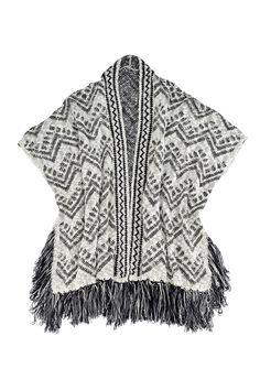 Fallon Poncho - Shirlaleah || Reclaimed and recycled materials. Shiraleah works closely with a cottage industry that employs family businesses to handcraft the bags in clean, healthy environments.