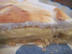 Banana Cream Pie - Moore or Less Cooking Food Blog! Creamy dreamy banana cream pie with a meringue top!