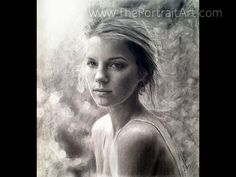 Exquisite Time-lapse Art / Drawing Videos Gallery - ThePortraitArt