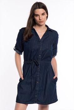 Bayan Elbise 1323818185 Mavi | Trendyol