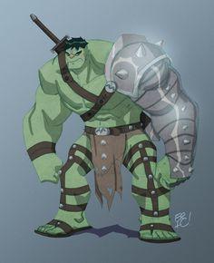 #Hulk #Fan #Art. (World War Hulk) By: EricGuzman. (THE * 5 * STÅR * ÅWARD * OF…