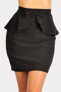 waldorf bow skirt. Need this just because I love Blair Waldorf.