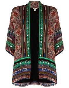 Amber Embellished Jacket | Multi | Monsoon - I so want this...