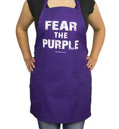 """Fear the Purple"" Apron"