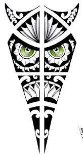 Resultado de imagem para tattoo ancora  desenho maori
