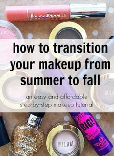 It's easy to look pretty in any season with fabulous and affordable makeup
