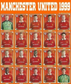 Old School Panini: Manchester Utd vs Bayern München in 1999 Manchester United Football, Manchester United Gifts, Manchester United Wallpaper, Manchester United Legends, Manchester City, Classic Football Shirts, Best Football Team, Vintage Football, Football Players