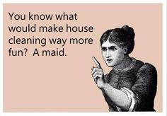 """Call Dunn's Cleaning Service for a hand around the house. We don't really mind if you have to call us your """"maid"""". #Esperance #Cleaning"""