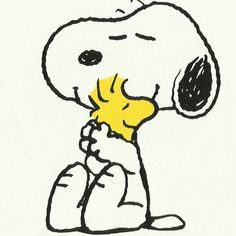 Peanuts by Charles Schulz Peanuts® Snoopy & Woodstock Hug Gallery-Wrapped Canvas Peanuts Snoopy, Woodstock Peanuts, Peanuts Cartoon, Schulz Peanuts, Snoopy Love, Snoopy Hug, Charlie Brown Und Snoopy, Snoopy Tattoo, Canvas Art