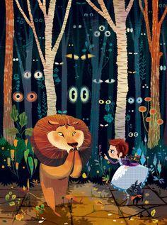The Wonderful Wizard Of Oz by Lorena Alvarez Gómez