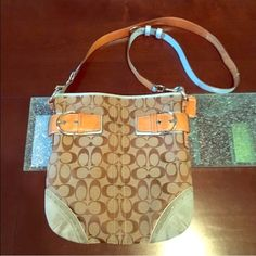 Coach cross body bag Used coach bag Coach Bags Crossbody Bags