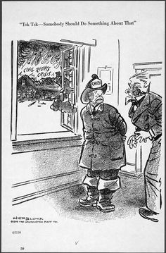 herbert block cartoon washington post 1956 | Herblock's Presidents (Herblock's History: Political Cartoons from the ...