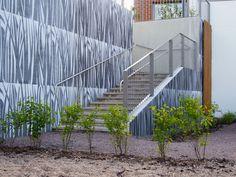 Graphic Concrete reference: Vantaan Kurjenmiekka ja Lipstikka, Housing