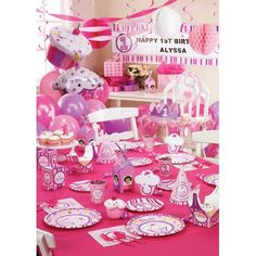 First Birthday Party Ideas Girl