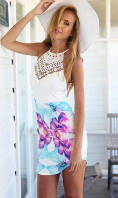 Mura Online Fashion Boutique | Crystal Sky Dress