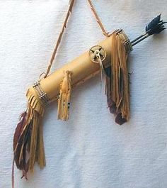 cherokee leather quiver