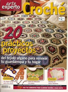 MAGAZINE: Arte experto croche magazine ♥LCB-MRS♥ with diagrams.