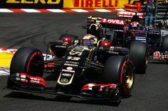 Pastor Maldonado (VEN) Lotus F1 E23.Monaco Grand Prix, Sunday 24th May 2015. Monte Carlo, Monaco.