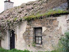 Cottage in Kenmore, Scotland Irish Cottage, Tudor Cottage, Cozy Cottage, Cottage Homes, Rustic Cottage, Country Life, French Country, Country Homes, Country Chic