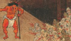 15 Different Interpretations of Hell in Art - Hell of Boiling Excrement - Hmmm, what could be in this version of Hell that comes out of 12th century Japan? Oh, burning excrement? Kind of like suffering for an eternity in a toilet bowl – that's been brought to a boil.