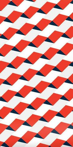 No one is more excited about geometric patterns than I! Surface Pattern, Pattern Art, Surface Design, Red Pattern, Wave Pattern, Quilt Pattern, Graphic Patterns, Color Patterns, Print Patterns