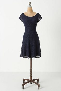 Fluttering Flora Dress #anthropologie. I want this dress or rather fit in this dress!!