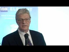 """Interesting talk from Sir Ken Robinson on his book """"The Element"""" about what gets people into their element and how they've got there."""