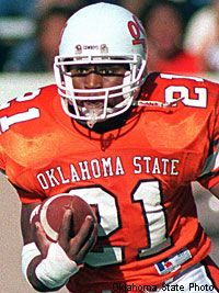 Barry Sanders, Heisman trophy winner & OSU Cowboy