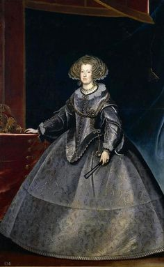 Mariana of Austria as Holy Roman Empress by Franz Luycx, 1631