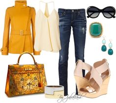 """Casual look"" by izabellaml ❤ liked on Polyvore"