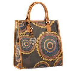 Ripani Time 0206rr Travel Tote Handbag Bag Making Brown Fashion