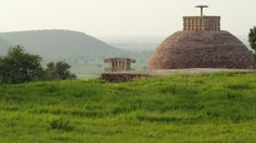 Sanchi's stupa 3 where excavators found the relics of two of Buddha's disciples