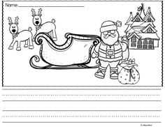 FREEBIE! Picture Christmas writing prompts