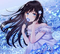 Tagged with art, anime, kawaii, animegirl, kurdishotaku; Anime Girl For Wallpaper Anime Girl Crying, Sad Anime Girl, Pretty Anime Girl, Kawaii Anime Girl, Anime Art Girl, Kawaii Art, Anime Girls, Anime Chibi, Anime Oc