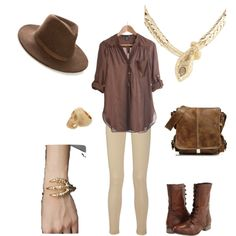 """Archaeologist"" by laxmicharms on Polyvore"
