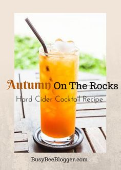 Add some autumn flavor to your next get together with this cold hard cider cocktail recipe. Prefect for that in between weather in Southern California