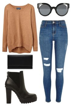 """""""Untitled #246"""" by omgitskaylapope on Polyvore featuring Fendi, Steve Madden, River Island, Joules and Carré Royal"""