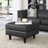 Modway Furniture Empress Leather Ottoman  #design #homedesign #modern #modernfurniture #design4u #interiordesign #interiordesigner #furniture #furnituredesign #minimalism #minimal #minimalfurniture